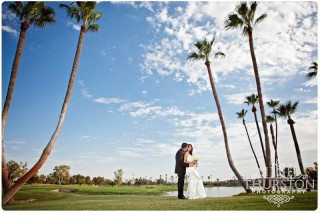 Wedding McCormick Ranch Golf Club bride and groom portraits