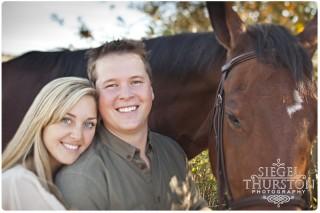 Horse engagement shoot