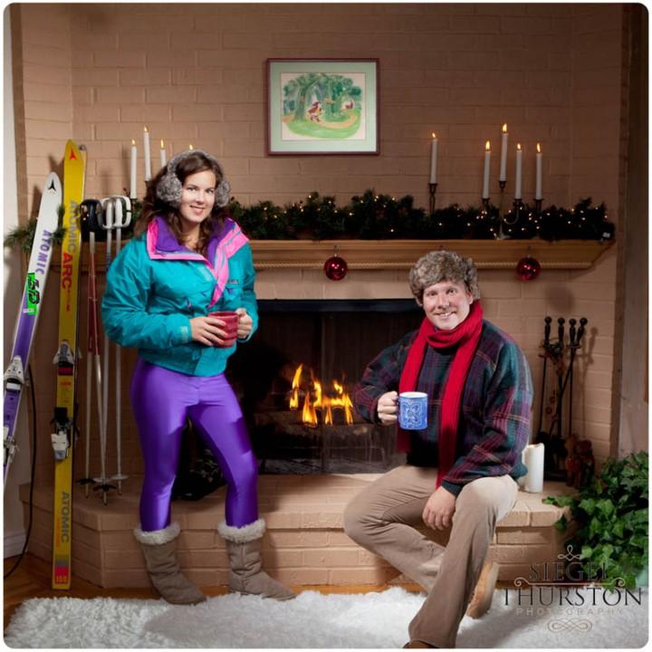 Liz & Brett\'s 1980\'s Flash Back Christmas Cards! - Siegel Thurston ...
