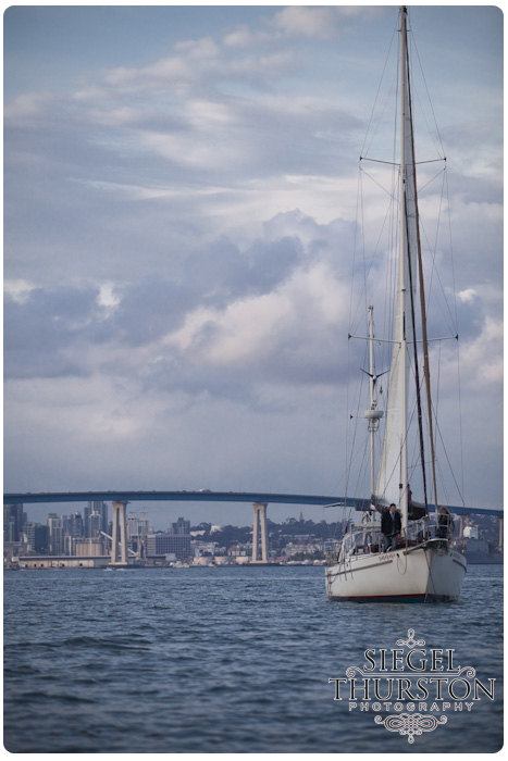 Babayaba 65 foot sailboat tours on the san diego bay