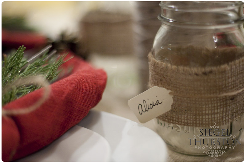 DIY mason jar beverage decorations for a party