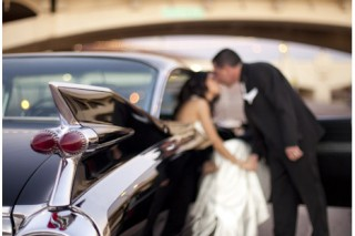 Ian-and-abby-scottsdale-day-after-wedding-rock-the-dress-with- 1959-cadillac-Eldorado-Baritzsiegel-thurston-photography