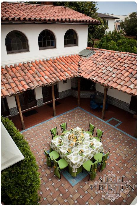The Darlington House La Jolla Wedding Table Inspiration