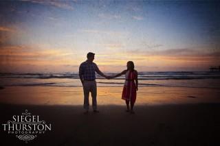 beach engagement photos san diego wedding photography