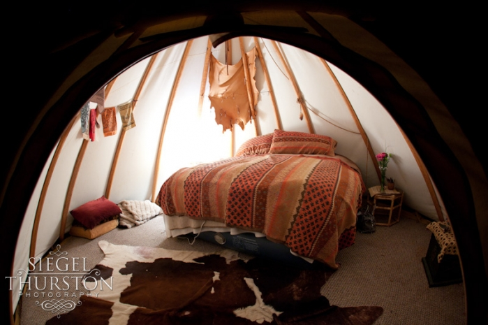 romantic escape in a tee pee a 16