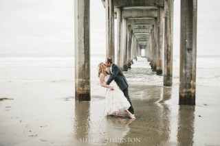 wedding photographs scripps pier