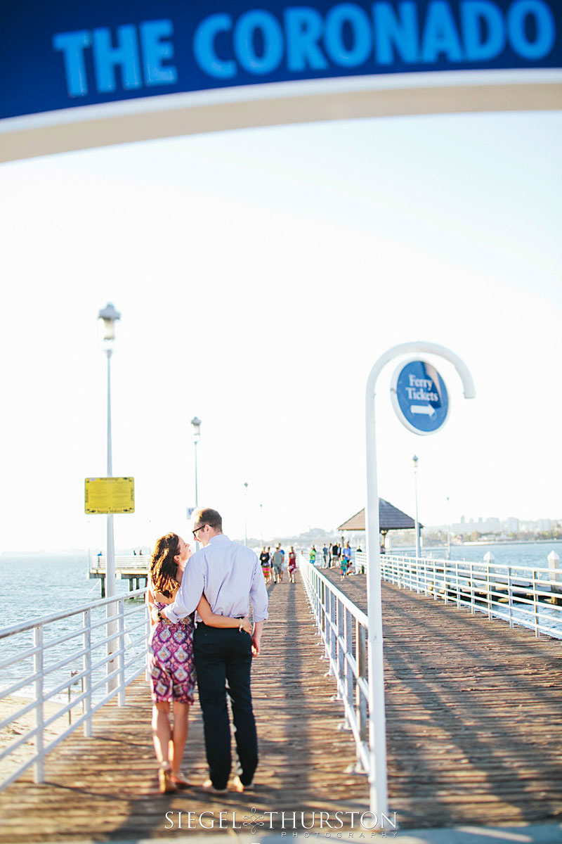 coronado ferry landing in san diego - siegel thurston photography