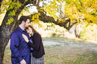 fall engagement shoot in san diego