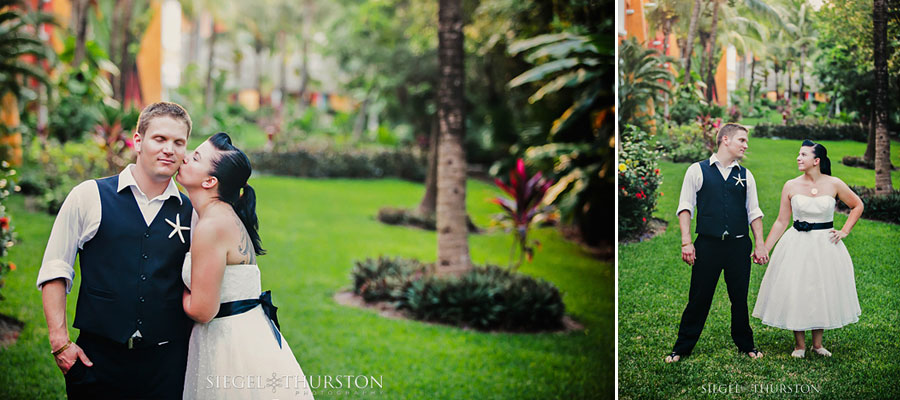 destination wedding at Barcelo all inclusive resort in playa del carmen mexico