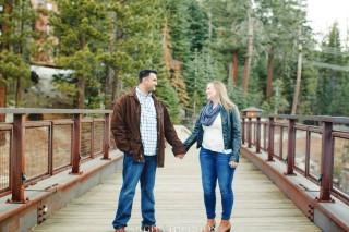 Mammoth Village Engagement photos