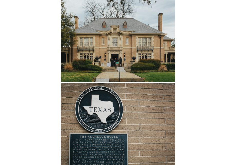 The aldredge house wedding venue dallas texas