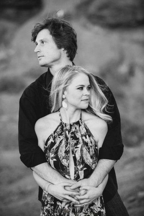romantic phoenix engagement photos