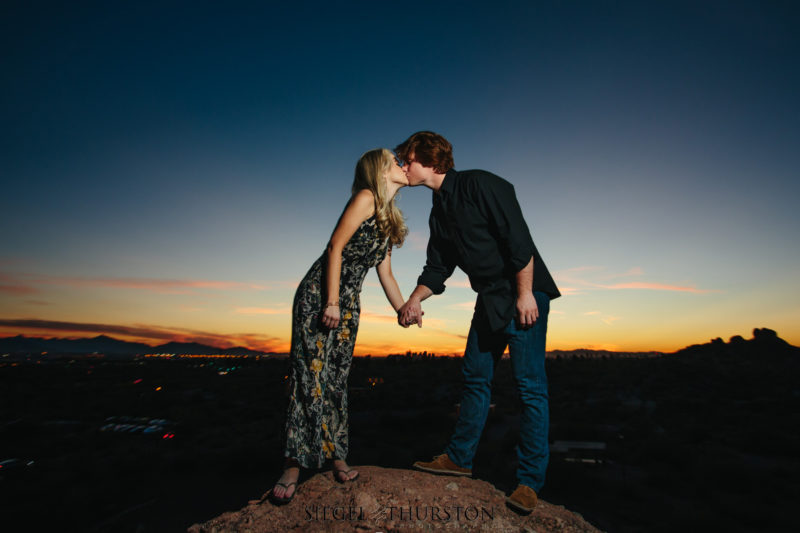 Papago Park Engagement Phoenix Arizona